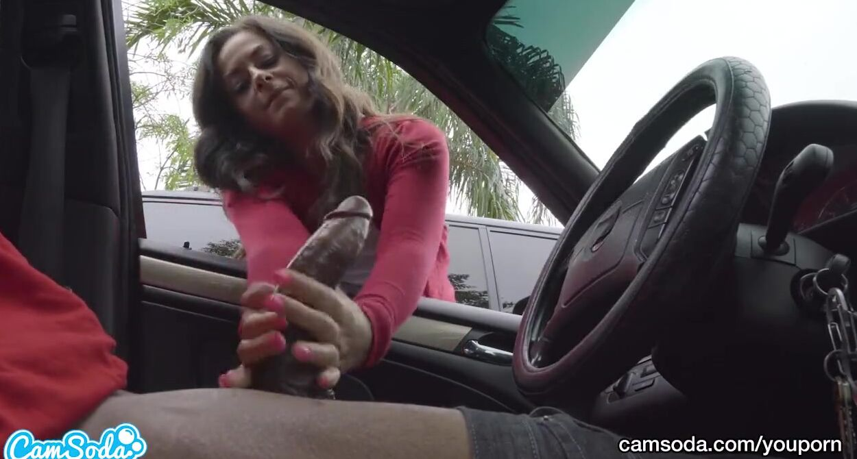 Dick Parkplatz Sucking My Slut